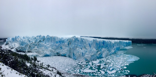 The Perito Moreno Glacier is one of only three Patagonian glaciers that is growing.